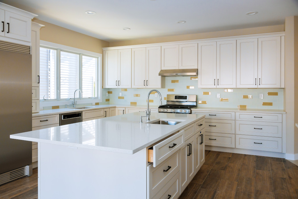 Kitchen Remodeling Upstairs Project in Houston, TX